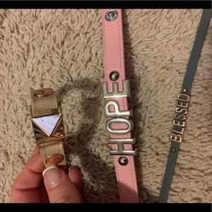 Bracelet Stack BCBG blessed hope